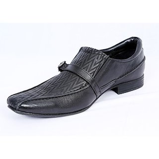 Valentino Sassy Black Men's Formal Shoes