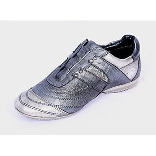 Valentino Ostentatious Silver Men's Casual Shoes