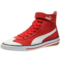 Puma Men Red Lace-up Casual Shoes