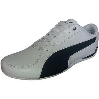 Puma Men White Lace-up Casual Shoes