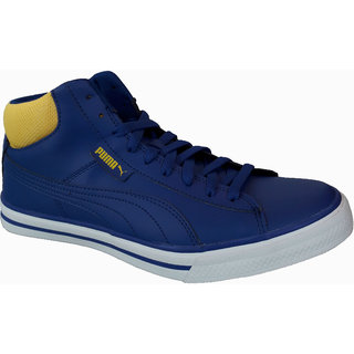 Puma Men Blue Lace-up Casual Shoes