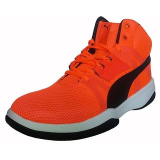 buy puma men red laceup casual shoes online  ₹5999 from