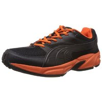 Puma Atom Men's Black Lace-up Sport Shoes