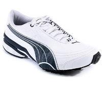 PUMA TAZON II DP Men's White Lace-up Sport Shoes