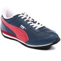Puma Speeder Tetron II Ind  Men's Navy Lace-up Sport Shoes