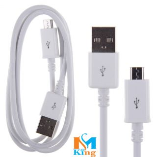 Micromax W900 Compatible Android Fast Charging USB DATA CABLE White By MS KING