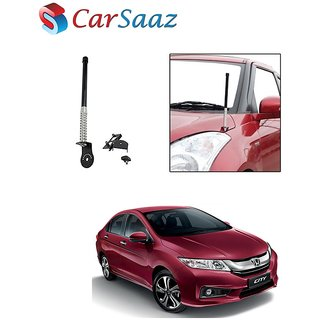 Carsaaz bonnet VIP show antenna Black for Honda City