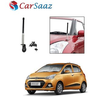 Carsaaz bonnet VIP show antenna Black for Hyundai Grand I10