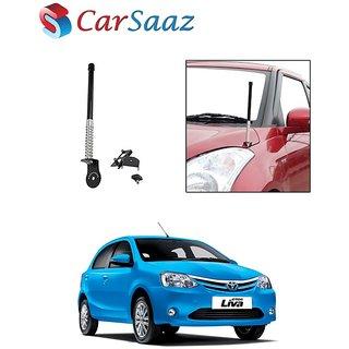 Carsaaz bonnet VIP show antenna Black for Toyota Etios Liva