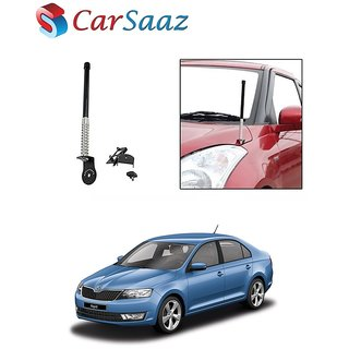 Carsaaz bonnet VIP show antenna Black for Skoda Rapid