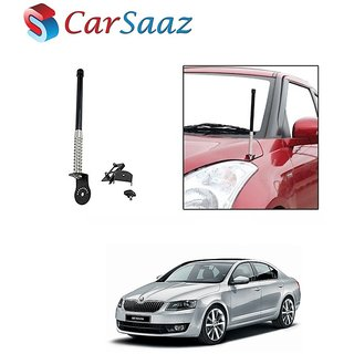 Carsaaz bonnet VIP show antenna Black for Skoda octavia