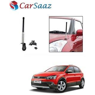 Carsaaz bonnet VIP show antenna Black for Volkswagen Cross polo