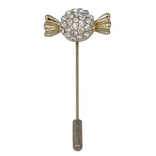 WOAP Gold Non Plated Alloy  Lapel Pin