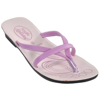 Ajanta Women's Pink Open Sandals