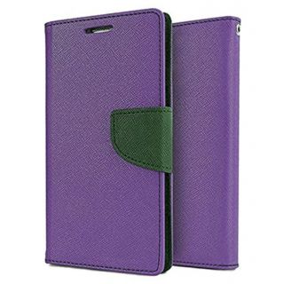 Apple IPhone 6S Plus Mercury Flip Cover By Sami - Purple