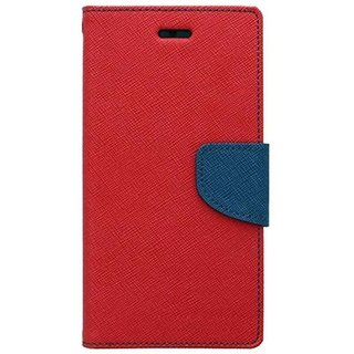 Samsung Galaxy J3 Mercury Flip Cover By Sami - Red