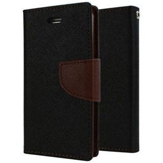 Sony Xperia C3 Mercury Flip Cover By Sami - Brown