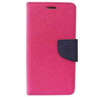 Oppo F1s Mercury Flip Cover By Sami - Pink