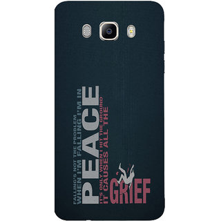 Samsung Galaxy J7 (2016) Printed back cover