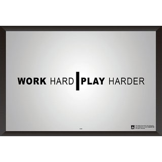 Hungover Work Hard Special Paper Poster