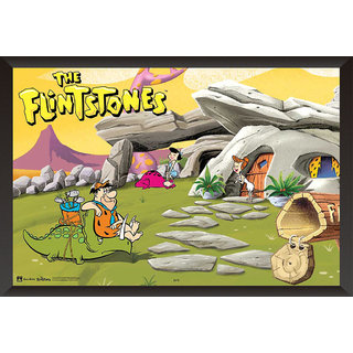 Hungover The Flintstones Family Special Paper Poster