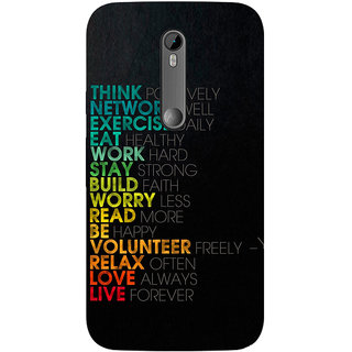Motorola Moto X Play Printed back cover