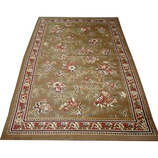 Imran Carpets Prested by Synthetic Multicolor Home made Designer Carpet Alikanta-5x7-10