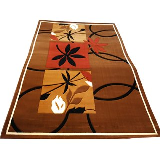 Imran Carpets Prested by Synthetic Multicolor Home made Designer Carpet Alikanta-6x9-14
