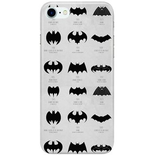 The Fappy Store COLLECTION OF BATS IMAGES Back Cover for Apple iPhone 7