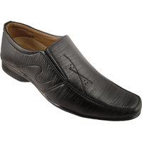 Action Synergy Men's PN9960 Black Formal Shoes