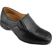 Action Synergy Men's PN411 Black Formal Shoes