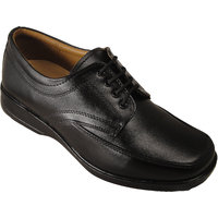 Action Synergy Men's P1477 Black Formal Shoes
