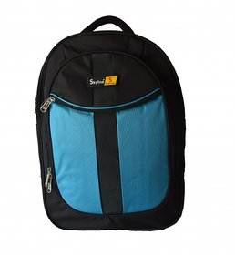 Skyline Blue Laptop Backpack-Office Bag/Casual Unisex Laptop Bag-With Warranty -910