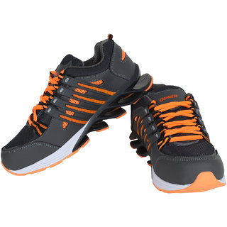 Super Grey-390 Men/Boy's Sports Running Shoe