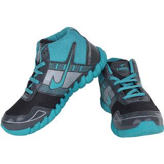 Super Grey  Blue-394 Men/Boy's Sports Running Shoe
