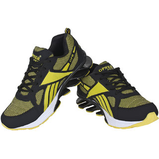 Super Black  Khaki-388 Sports Running Shoe
