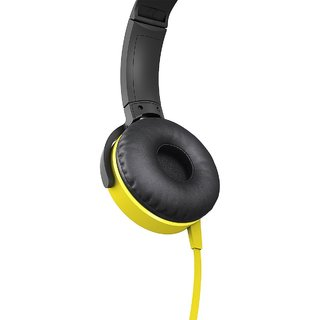 Amazon Basics On-Ear sony mdr Xb450 new Headphone-Yellow f121c01303eec