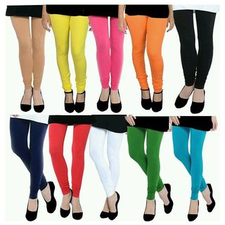 Aashish Garments Pack of 10 Leggings