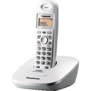 Panasonic KX-TG3615BX Cordless Phone With Battery Backup (WHITE)
