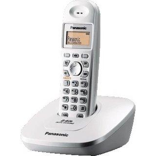 Panasonic KX-TG3615BX Cordless Phone With Battery Backup (WHITE)