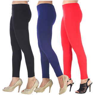 Aashish Garments Pack of 3 Woollen Leggings
