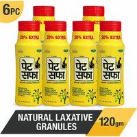 Pet Saffa Ayurvedic Constipation Powder 100gm + 20gm Free (Pack of 6)
