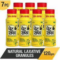 Pet Saffa Ayurvedic Constipation Powder 100gm + 20gm Free (Pack of 7)