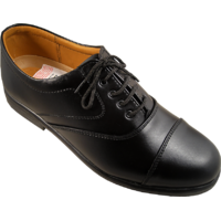 Action Synergy Men's ME432 Black Formal Shoes