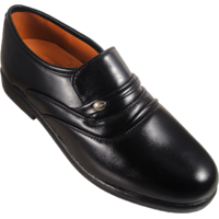 Action Synergy Men's ME302 Black Formal Shoes