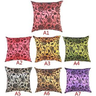 Sofa Bed Cushion Cover Chameleon Flock Velvet Print Pillow Case