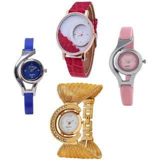 PMAX GLORY COMBO BEST OFFER PARISH FASHION 2016 Analog Watch - For Girls, Women