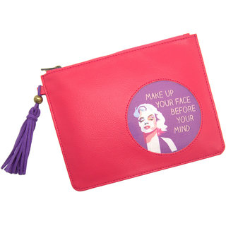 Thathing Pouch Make Up You Face Pink