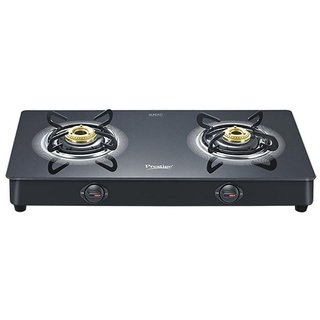 Prestige Royale plus GT 02 2 Burner Glass Manual