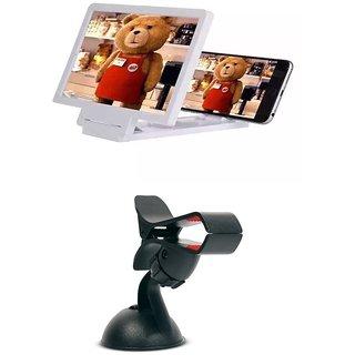 3D PHONE SCREEN+ CAR HOLDER COMBO SET